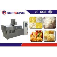Buy cheap 304 Stainless Steel Bread Crumbing Machine Double , Extruder Industrial Food Production Machines from wholesalers