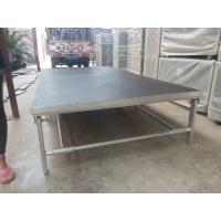 Portable Aluminum Movable Stage Platform 18mm Plywood Board And Aluminum Frame Manufactures