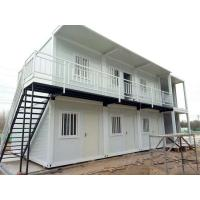 Buy cheap Fast Assembly Prefabricated Shipping Container Houses , 20ft / 40ft Shipping Container Home from wholesalers