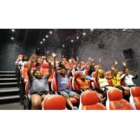 Buy cheap 2200W 380V 5D Movie Theater Ocean Park 5D Motion Cinema Arc Screen from wholesalers