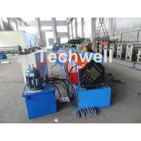 Wholesale Metal Stud And Track Roll Forming Machine , Sheet Metal Roll Former For Roof Truss from china suppliers