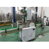 Buy cheap Plastic / PET Screw Cap Bottle Sealing Machine With Stainless Steel And High Speed from wholesalers