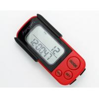 Wholesale PD-7006 3D Sensor Pedometer Walking 3D Pedometer Fitness Calorie Monitor Red+Black from china suppliers