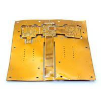 Buy cheap Polyimide / Polyeter Multilayer FPC Cable Rigid Flex Pcb Circuit Board Heating Film FPCA from wholesalers