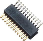 Wholesale 90° SMT 1 Mm Pitch Pin Header Connector / Single Row Pin Header from china suppliers