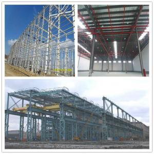 Modern steel structure workshop in Algeria Manufactures