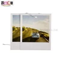 Buy cheap Scented Paper Car Air Freshener Customized Logo For Car Hanging from wholesalers