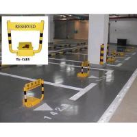 Remote control 610 * 500 * 80m parking space barrier with alarm function in-built battery Manufactures
