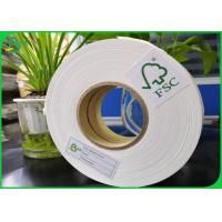 China 14mm 15mm Width Biodegradable FDA Food Grade Paper Roll 60gsm 80gsm 120gsm 135gsm For Disposable Paper Straw on sale