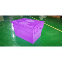 Buy cheap Water - Proof 600*400*365 Mm Stacking Plastic Totes With Anti - Theft Button from wholesalers