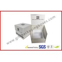 Buy cheap Custom Cardboard Cosmetic Packaging Boxes , Offset Printed Grad Board Magnetic Packing Boxes from wholesalers