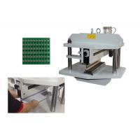 450mm PCB Depanel Machine high speed steel , Motorized PCB Separator Manufactures