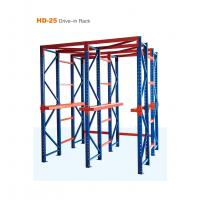 Buy cheap Blue Color Drive In Pallet Rack Easy Assembling With Adjustable Structure from wholesalers