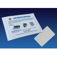 Buy cheap Simple Card Reader Cleaning Card , Diamond Flocked Printer Cleaning Card from wholesalers
