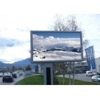 Buy cheap Full Color Led Outdoor Display Screen , Outdoor Led Advertising Panel SMD3535 from wholesalers