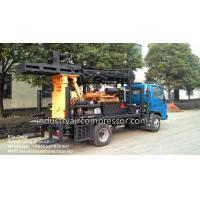 Buy cheap 200m Depth 10.5 - 24.6bar KW20 Truck Mounted Water Well Drilling Rigs CE from wholesalers