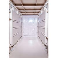 Buy cheap Token Operated Lockers 3 Comparts 1 Column , Red Storage Locker For Gym from wholesalers