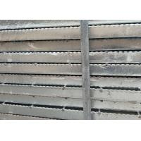 Wholesale 19-W-2 Welding Serrated Steel Grating 1m * 6m Panels For Retail ISO from china suppliers