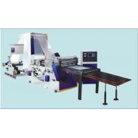 Buy cheap DFJ800-1600 Automatic Double-Unwinding Sheeting Machine, Slitter Rewinding Machine For Lamination Material product