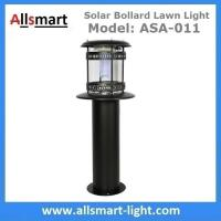 Buy cheap 60cm 24Inch Height Black Sensor Westinghouse Solar Bollard Lawn Light Stainless Steel Landscaping Yard Driveway Lamp from wholesalers