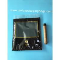 Buy cheap Custom LOGO fashion cigarette zipper lock moisturizing fresh plastic bag with from wholesalers