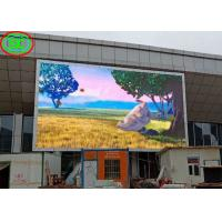 Buy cheap P6 Outdoor Full Color LED Display Big Tv Advertising Screen 1920Hz Refresh Frequency from wholesalers