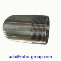 Buy cheap Nickel Alloy UNS 2200 Forged Pipe Fittings MSS SP 95 NPT Male Bull Plug from wholesalers