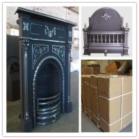 Wholesale price for cast iron indoor fireplace from china suppliers
