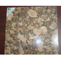 Buy cheap Golden Yellow granite tile Giallo Fiorito from wholesalers