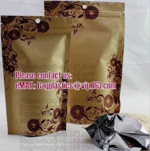 Wholesale Kraft paper bags, Cookie packaging, Tea pack, Coffee pack, Oil packaging, Juice pack from china suppliers