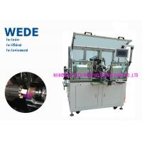 Buy cheap 2 Flyers Slot Air Coil Winding Machine , Armature Auto Winding Machine from wholesalers