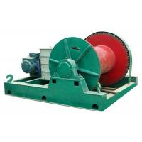 China Cargo material lifting electric motor engin wire rope pulling steel electric winch on sale