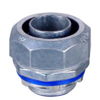 Buy cheap UL listed  Liquid Tight Connectors straight , Liquid Tight  Connector for flexible conduit from wholesalers