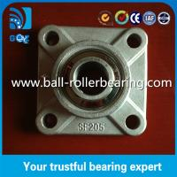 4 Bolt Pillow Block Bearing For Conveyor Machine , Flange Mounted Bearings Manufactures