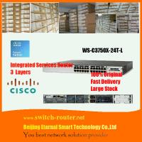 Buy cheap original and brand new cisco 48 ports switch WS-C3750X-48T-L from wholesalers