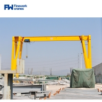 Buy cheap European Portable Single Girder Gantry Crane With Electric Trolley from wholesalers