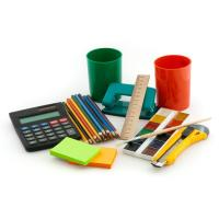 Buy cheap Customized mini notebook,pencil,caculator,staple,holder,ruler for office stationery from wholesalers