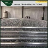 Buy cheap Portable Chain Link Temporary Fencing Panels 6'X10' Removable Easy Installation from wholesalers