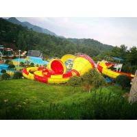 Buy cheap Safety Fiberglass Backward Tantrum Valley For Aqua Park / Industrial Water Slide from wholesalers