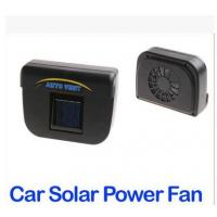 Buy cheap Solar Power Car Auto Cool Air Vent With Rubber Stripping from wholesalers
