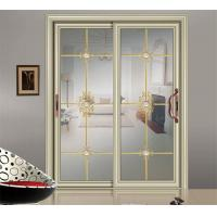 Buy cheap champagne sliding glass door China suppliers interior glass door from wholesalers