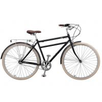 Wholesale High grade hi ten steel colorful 36 holes 26 inch old style city bike for man with rear carrier from china suppliers