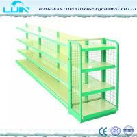 Buy cheap 5 Levels Metal Supermarket Display Racks Powder Coated Surface Various Color from wholesalers