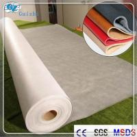 Buy cheap Polyester Nylon Microfiber Nonwoven Synthetic Leather Fabric Raw Material from wholesalers