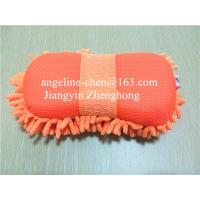 Buy cheap microfiber chenille car cleaning, house cleaning  washing sponge products from wholesalers