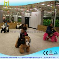 China Hansel indoor amusement rides for sale and  bull riding toys for kids on sale