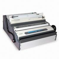 Buy cheap Electric Wire Binding Machine for Both 3:1 and 2:1 Pitch Wire Heavy Duty Punching and Binding from wholesalers