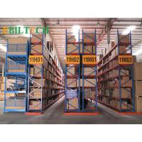 Buy cheap ISO Warehouse  VNA Racking System Flour Selective Customized Printing Galvanized Storage from wholesalers