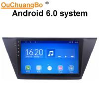 Buy cheap Ouchuangbo car multimedia kit radio android 6.0 for Volkswagen Touran with gps navi steering wheel control from wholesalers