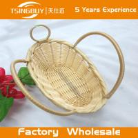 Buy cheap Factory wholesal 100% nature handcraft rattan gift basket-Food Save Natural Wicker Bread Basket from wholesalers